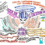 """Capture des présentations et discussions en plénière pour Ceva. 1 jour. Format: 7mx4m Réalisation en temps réel Copyright © - par <a href=""""http://www.fgcp.net/laurevillemaine"""">Laure  Villemaine</a>"""