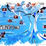 """Mur de synthèse (3m/10m) réalisé sur 1,5 jours. Auteur: Nicolas Gros en collaboration avec Guillaume Lagane.  © - par <a href=""""http://www.fgcp.net/nicolasgros"""">Nicolas  Gros</a>"""
