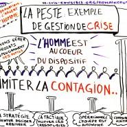 Facilitation graphique conférence Agile Tour Clermont-Ferrand, 2013 par @RomainCouturier, www.terredagile.com