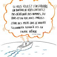 Poster séminaire équipe commerciale, 2015, par @RomainCouturier, www.terredagile.com