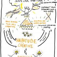 Scribing d'une conférence TEDx, 2015, par @RomainCouturier, www.terredagile.com