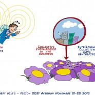"""Fresque numérisé et travaillé à l'ordinateur. Séminaire """"Intelligence Collective"""" de Robert Dilts à Avignon.  - par <a href=""""http://www.fgcp.net/Antonio Meza"""">Antonio  Meza</a>"""
