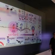 ...on a huge digital wall!