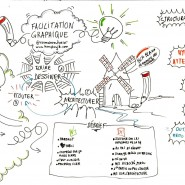 Atelier de sensibilisation à la facilitation graphique, 2016, par @RomainCouturier, www.terredagile.com
