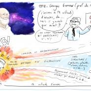 "Scribbing Conférence Hubert Reeves, 2016. - par <a href=""http://www.fgcp.net/Anne Bernardi"">Anne  Bernardi</a>"