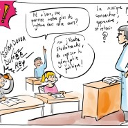 """Scribing en live sur """"Monte le Son"""" lors des rencontres """"Sciences et citoyens"""" du CNRS de Vaulx-en-Velin ( 12 planches réalisées + fresque de restitution). 2018 - par <a href=""""http://www.fgcp.net/Anne Bernardi"""">Anne  Bernardi</a>"""